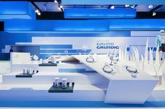 blue to white | grundig by D'art Design Gruppe , via Behance