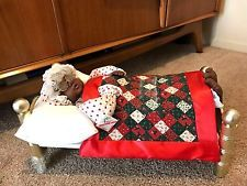 Vintage Sleeping Mrs Claus Black African American Telco Motionettes Figure RARE
