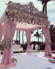We are simply stunned by these incredible wedding decorations 💗 Double tap if this could be your dream wedding decor … ⠀ Decor by Event planner Source Perfect Wedding, Dream Wedding, Wedding Day, Magical Wedding, Spring Wedding, Luxury Wedding, Wedding Engagement, Wedding Church, Wedding Scene