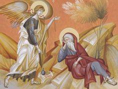 EL PROFETA ELÍAS , visitado por el Ángel de DIOS