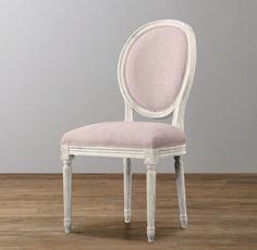 RH Baby & Child's Mini Vintage French Upholstered Chair:Our child-sized chair is a scaled-down version of a 19th-century French Empire chair.