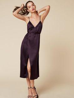 The Delaney Dress  https://www.thereformation.com/products/delaney-dress-aubergine?utm_source=pinterest&utm_medium=organic&utm_campaign=PinterestOwnedPins