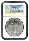 2012 W Silver Eagle NGC MS70 IN STOCK SHIPS IMMEDIATELY FIRST RELEASES - $74 - http://www.onlinegoldshopping.net/eagle-ms70/#
