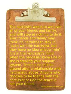 Narcissists have no boundaries and never respect yours.  They think it's funny to keep in touch with your family. ... like they're some  kind of great guy.  It really  is all about undermining your relationship with your family. Nothing friendly about that!