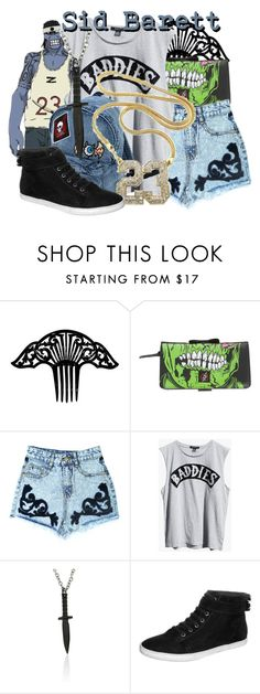 """""""Sidney """"Sid"""" Barett from Soul Eater"""" by likeghostsinthesnow ❤ liked on Polyvore featuring Iron Fist, Ksubi, Dolce Giavonna and Zign"""