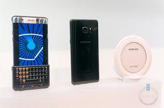 Samsung Galaxy Note 7 Keyboard & Wireless Charging