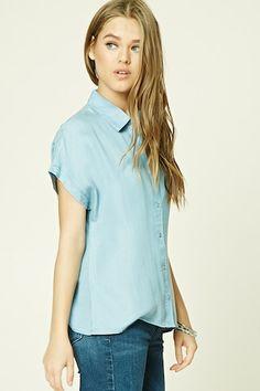 Chambray Dolman Shirt