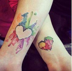 Парные татуировки | 51 фотография