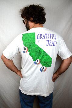 RARE Vintage 1993 Jug Band Tour Grateful Dead Tee by RogueRetro