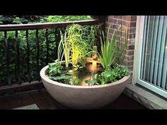 DIY Patio Pond, enjoy the Lifestyle!
