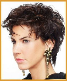 Image result for short hairstyles for thick coarse hair