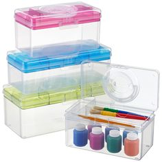 The uses for our Hobby Boxes are virtually endless! Use it to store hobby or craft supplies, cosmetics, jewelry, sewing supplies - even fishing lures or first-aid supplies.
