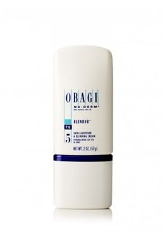 Obagi Nu-Derm Blender, Hydroquinone cream that complements retinol