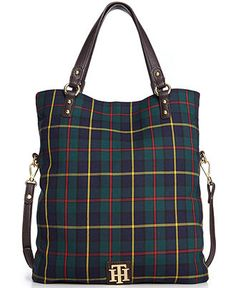 Tommy Hilfiger Handbag, Back to Cool Fold Over Tote - Handbags & Accessories - Macy's