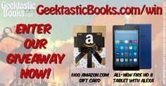 GeektasticBooks.com Reader Giveaway!