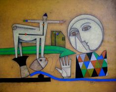 Orlando Boffill es otro gran artista cubano, autor de esta enigmática obra, que entre salitres y brisas airadas consuma una odisea plástica plena de claves y rincones recónditos.Sus lienzos tienen …