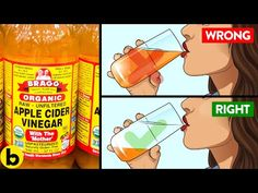 8 Apple Cider Vinegar Hacks You Need To Know - YouTube Apple Cider Vinegar Mother, Apple Cider Vinegar Benefits, Health Tips, Health And Wellness, Health Fitness, Health Care, Easy Weight Loss, Lose Weight, Drinks Before Bed