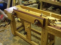 Splayed Leg Roubo Workbench - by Airframer @ LumberJocks.com ~ woodworking community