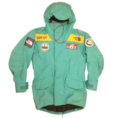 The North Face Trans-Antarctic Expedition Parka - Sea Green - 1990