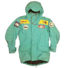 The North Face Trans-Antarctic Expedition Parka - Sea Green - 1990