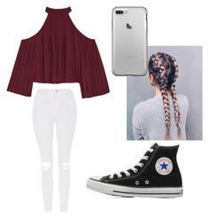 """""""Casual"""" by sinai05 on Polyvore featuring W118 by Walter Baker, Topshop and Converse"""