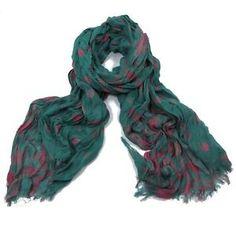 ladies scarf Penny Polka Dot design scarves shawls wrap neck soft fashion