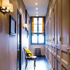 Un couloir au charme classique - Marie Claire Maison