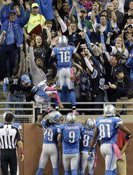 Week 8: Detroit #Lions over Seattle #Seahawks 28-24.