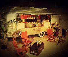 Authentic Airstream Bar www.deconoirevents.com