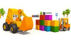 Cartoni animati per bambini - L'escavatore Max: Come si fa un muletto?