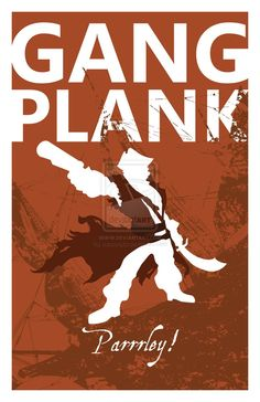 Gangplank: League of Legends by subscripts