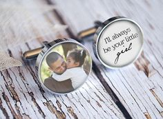 Father of the Bride Wedding Cuff Links, keepsake, Wedding Party Gifts Gift for Dad Men Gift