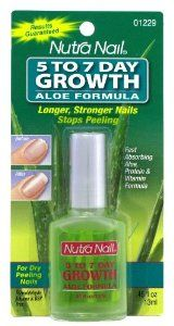 Nutranail 5 To 7 Day Growth Aloe Formula 45 Oz 3 Pack With Free Nail File By Nutra 14 99