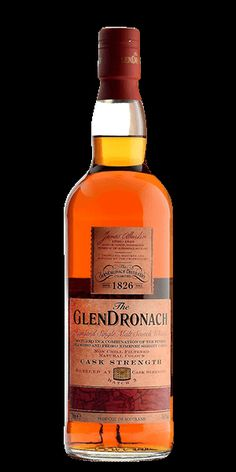 The entire GlenDronach range is the perfect example of fine, Highland, Single Malt Whisky. GlenDronach Scotch Single Malt Cask Strength is all of that and more — more premium casks, more ABV, more flavor, and we ALWAYS want more of it.