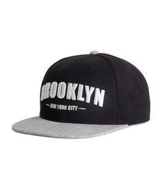 Embroidered cap | Men | H&M ID