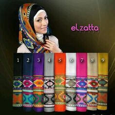 Kerudung Cantik El Zatta