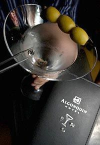 """""""Let's get out of these wet clothes, and into a dry martini."""" Robert Benchley. (Although often attributed to Aleck Woolcott.)"""