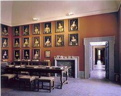 Palazzo Chigi interior , Ariccia , Italy