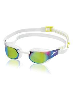 b9a1b1410e6b Fastskin3 Elite Mirrored Goggle - White Usa Swimming