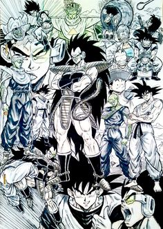 Amazing Dragon Ball Z fanart drawn by: ‏@dramani5958 #SonGokuKakarot - Visit now for 3D Dragon Ball Z shirts now on sal