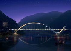 "bensozia: Chonqing ""Eco Bridge"" by Enrico Taranta"