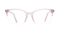 Nadine Light Pink mouse - See the lighter side of life with our new semi-rimless frames, available now for your favourite Nadine glasses. Designed by Maripier Morin, the collection represents the perfect balance between style and trends. Named in honor of Maripier's young nieces, it's a feminine collection with frames that make a statement. You won't go unnoticed when you wear them. *Semi-rimless frames can only be fitted to prescriptions with a sphere (SPH) valu...