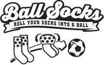Ball Socks : Roll your socks into footballs, baseballs...