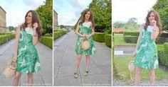 Un vestido tropical en versión lady, ¡no te lo pierdas!