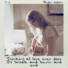 But on a Wednesday in a cafe...I watched it begin again