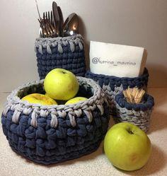 Вот такой уютный кухонный набо | вязание вязание