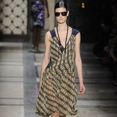 modern Indonesian batik designs by Dries van Noten