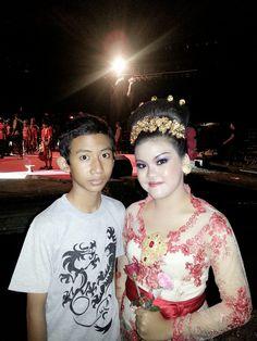 with my Guitarist, damarwulan ❤(◕‿◕ ) -  #PKB2013 XXXV #afterthebestperformance #spectacularshow #DutaGianyar