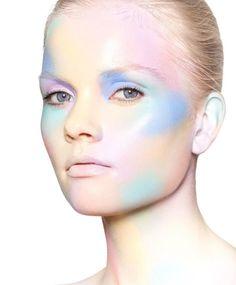 Makeup Inspiration, Makeup Ideas, Pastel Makeup, Beauty Shoot, Face Forward, Change Is Good, Beauty Hacks, Beauty Tips, Blue Aesthetic