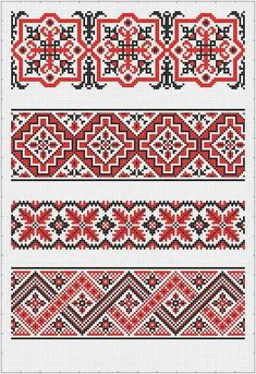 This Pin was discovered by Окс Cross Stitch Borders, Cross Stitch Flowers, Cross Stitch Charts, Cross Stitching, Cross Stitch Embroidery, Beaded Embroidery, Bargello Patterns, Embroidery Patterns, Cross Stitch Patterns